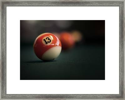 Lucky Number Framed Print
