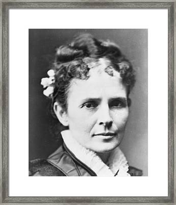 Lucretia Garfield 1832-1918, First Lady Framed Print by Everett