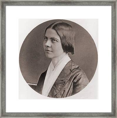 Lucy Stone, 1818-1893, American Framed Print by Everett