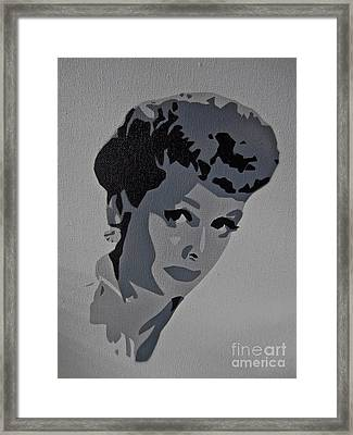 Lucy Framed Print by Tom Evans