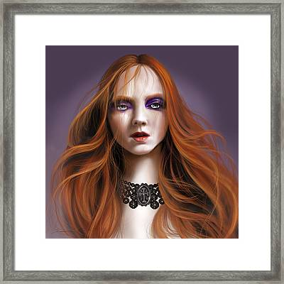 Lucy Westenra Framed Print