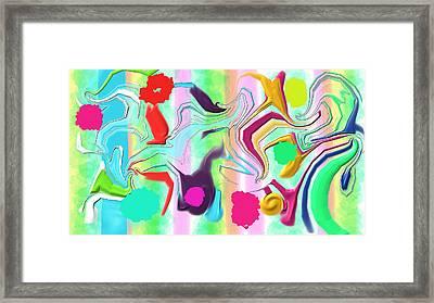 Ludere Framed Print by Rosana Ortiz