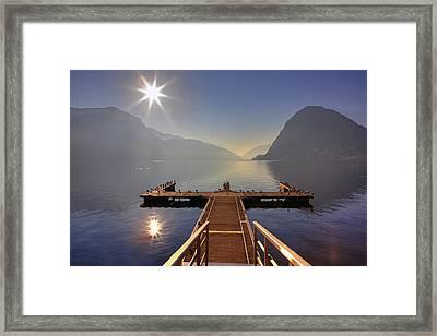 Lugano Framed Print by Joana Kruse
