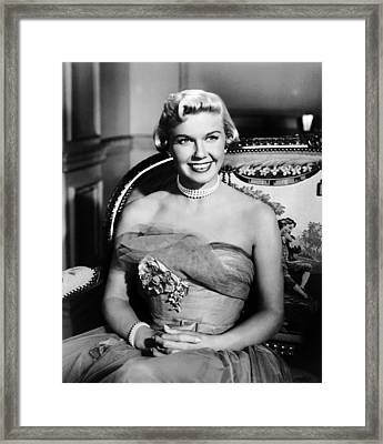Lullaby Of Broadway, Doris Day, 1951 Framed Print