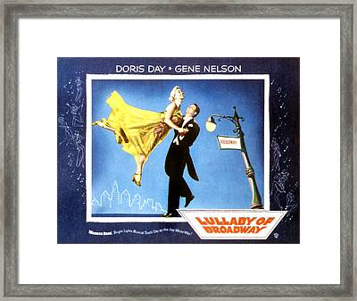 Lullaby Of Broadway, Doris Day, Gene Framed Print by Everett
