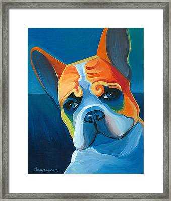 Lulu Framed Print by Mike Lawrence