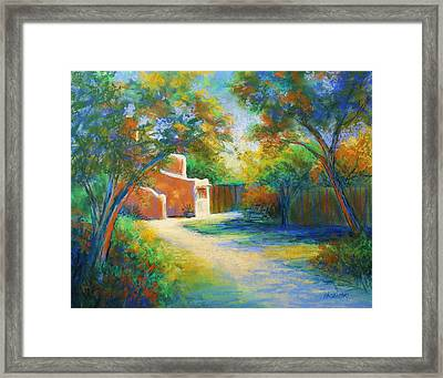 Lumina Framed Print by Peggy Wrobleski