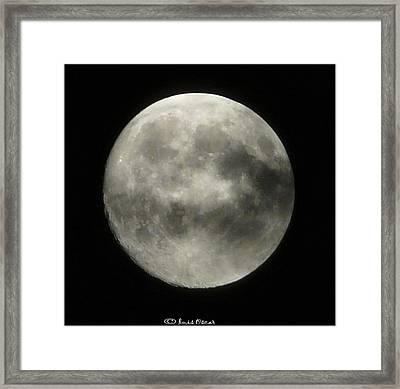 Luna Framed Print by Luis oscar Sanchez