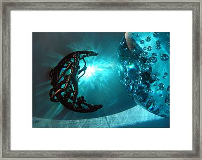 Luna Marina Framed Print by Maria Evangelatou