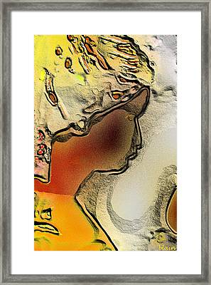 Luna Framed Print by Normand blain Bureau
