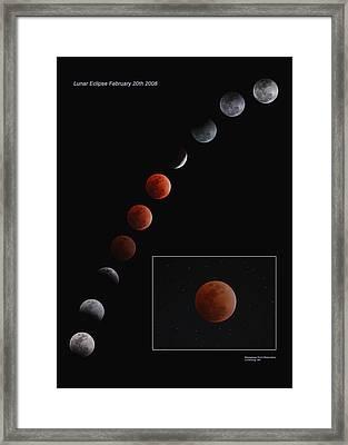 Lunar Eclipse 2008 Framed Print