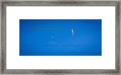 Framed Print featuring the photograph Lunar Shoes by Matti Ollikainen