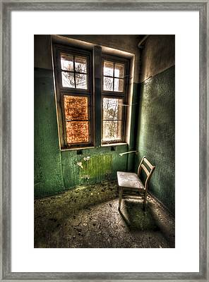Lunatic Seat Framed Print by Nathan Wright