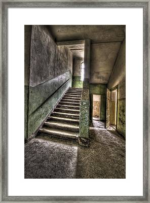 Lunatic Stairs Framed Print