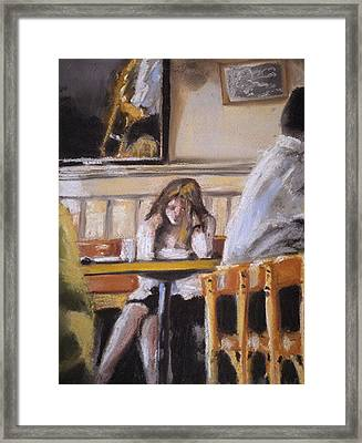 Lunch Hour Framed Print by Paul Mitchell