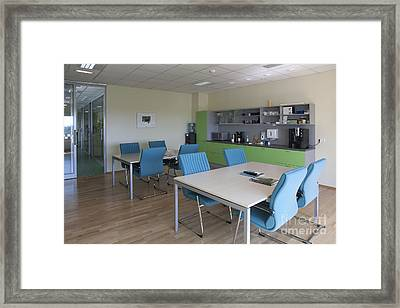Lunch Room Framed Print by Jaak Nilson