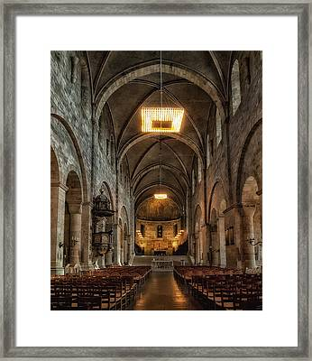 Lund Cathedral Framed Print by Wade Aiken