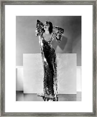 Lupe Velez, Ca. Early 1930s Framed Print by Everett