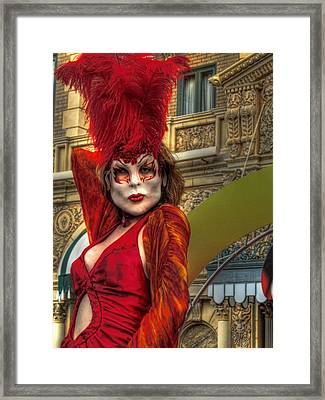 Framed Print featuring the photograph Lust by Joetta West