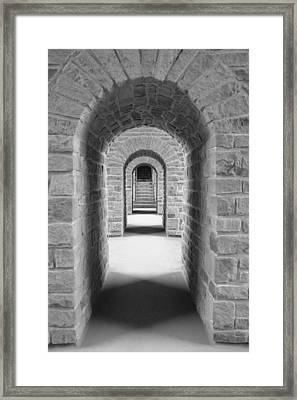 Luxembourg Passages Framed Print
