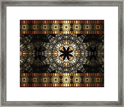 Luxor Sola Framed Print by Drake Lock