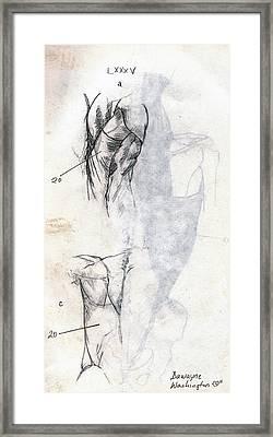 Lxxxv Framed Print by Duwayne Washington