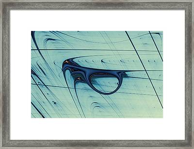 Lyapunov 30 Framed Print by Mark Eggleston