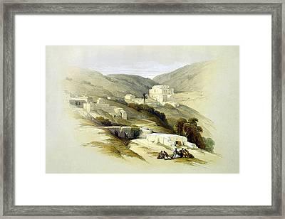 Lydda Framed Print