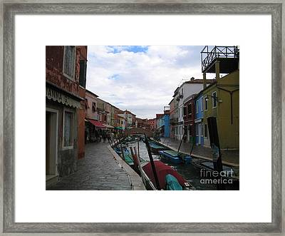 Lyfescapes Framed Print