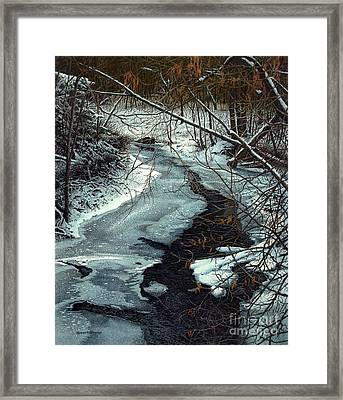 Lynde Creek Framed Print