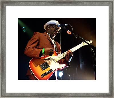 Lynval Golding-the Specials Framed Print