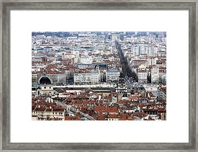 Lyon Framed Print by Luiz Felipe Castro