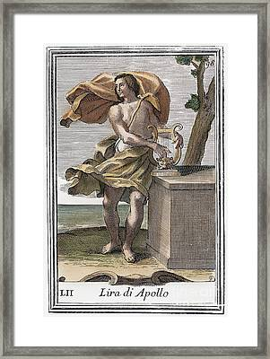 Lyre Framed Print by Granger