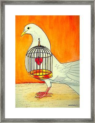Lyricism That Isn't Liberation Framed Print by Paulo Zerbato
