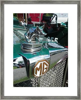 M G Hood 2 Framed Print by Anna Ruzsan