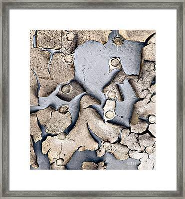 M O L T I N G Framed Print by Charles Dobbs
