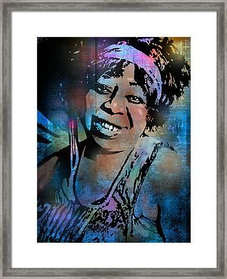 Ma Rainey Framed Print by Paul Sachtleben