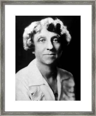Mabel Vernon, 1883-1975, American Framed Print