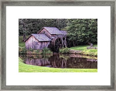 Mabry Mill Framed Print by Wade Aiken