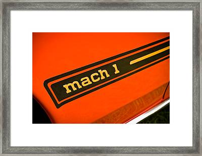 Mach 1 Framed Print by Phil 'motography' Clark