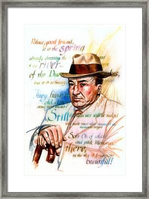 Machado Framed Print by Ken Meyer jr