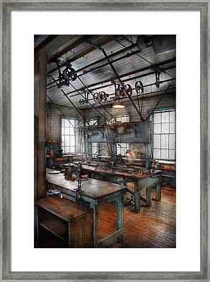 Machinist - Steampunk - The Contraption Room Framed Print