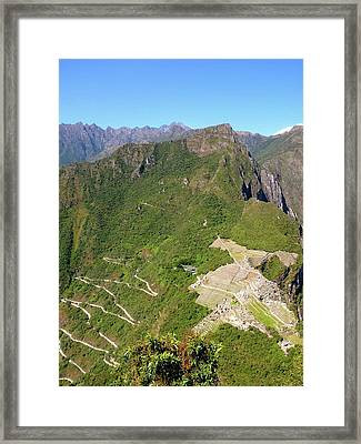 Machu Picchu Framed Print by Cute Kitten Images