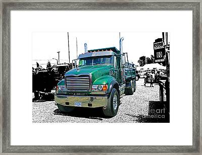 Mack Abstract Framed Print by Randy Harris