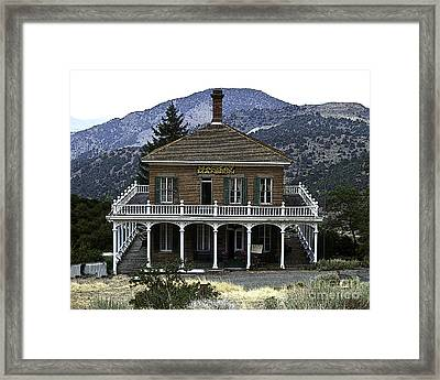 Mackay Mansion Framed Print