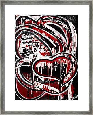 Mad Love Framed Print