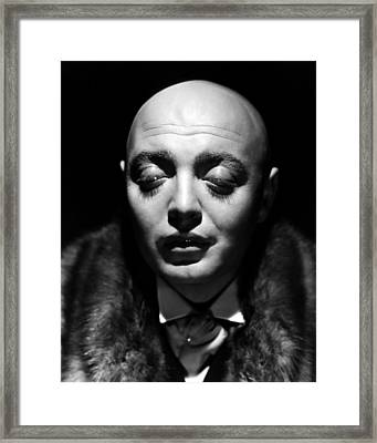 Mad Love, Peter Lorre, 1935 Framed Print by Everett