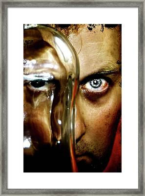 Framed Print featuring the photograph Mad Man by Pedro Cardona