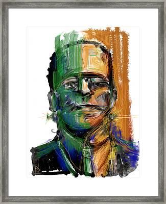 Mad Man Framed Print