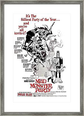 Mad Monster Party, 1967 Framed Print